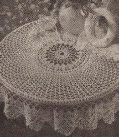 Image Result For Round Crochet Tablecloth Free Patterns Doilies