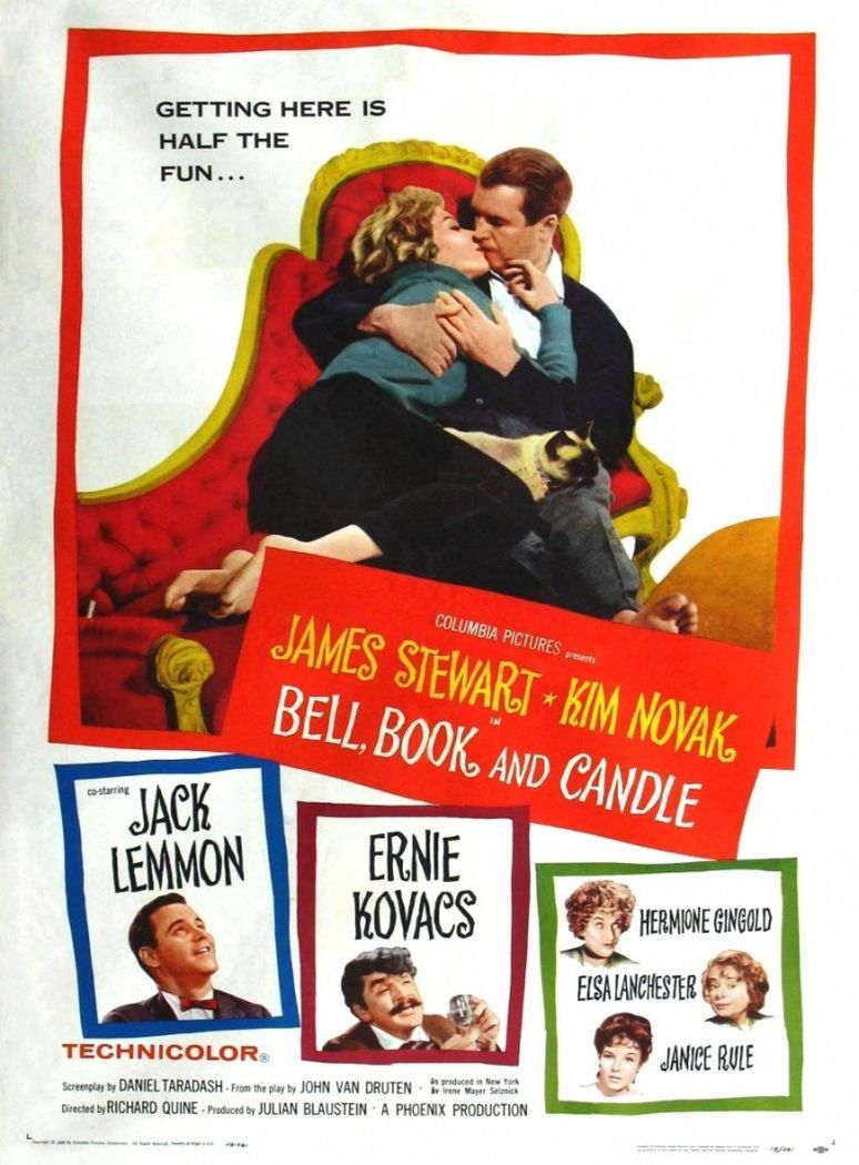 One of my favorite movies - Bell, Book and Candle