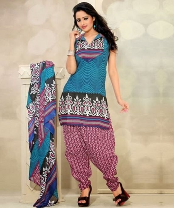 Latest Indian Salwar Kameez Designs For Girls 2017.It is some times seen that women like to wear ...