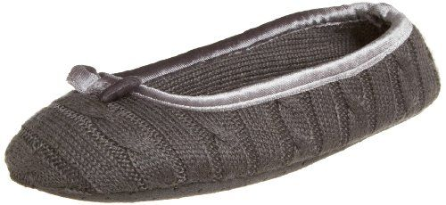 Anne Klein New York Women`s Cable Ballet Slipper with Bow