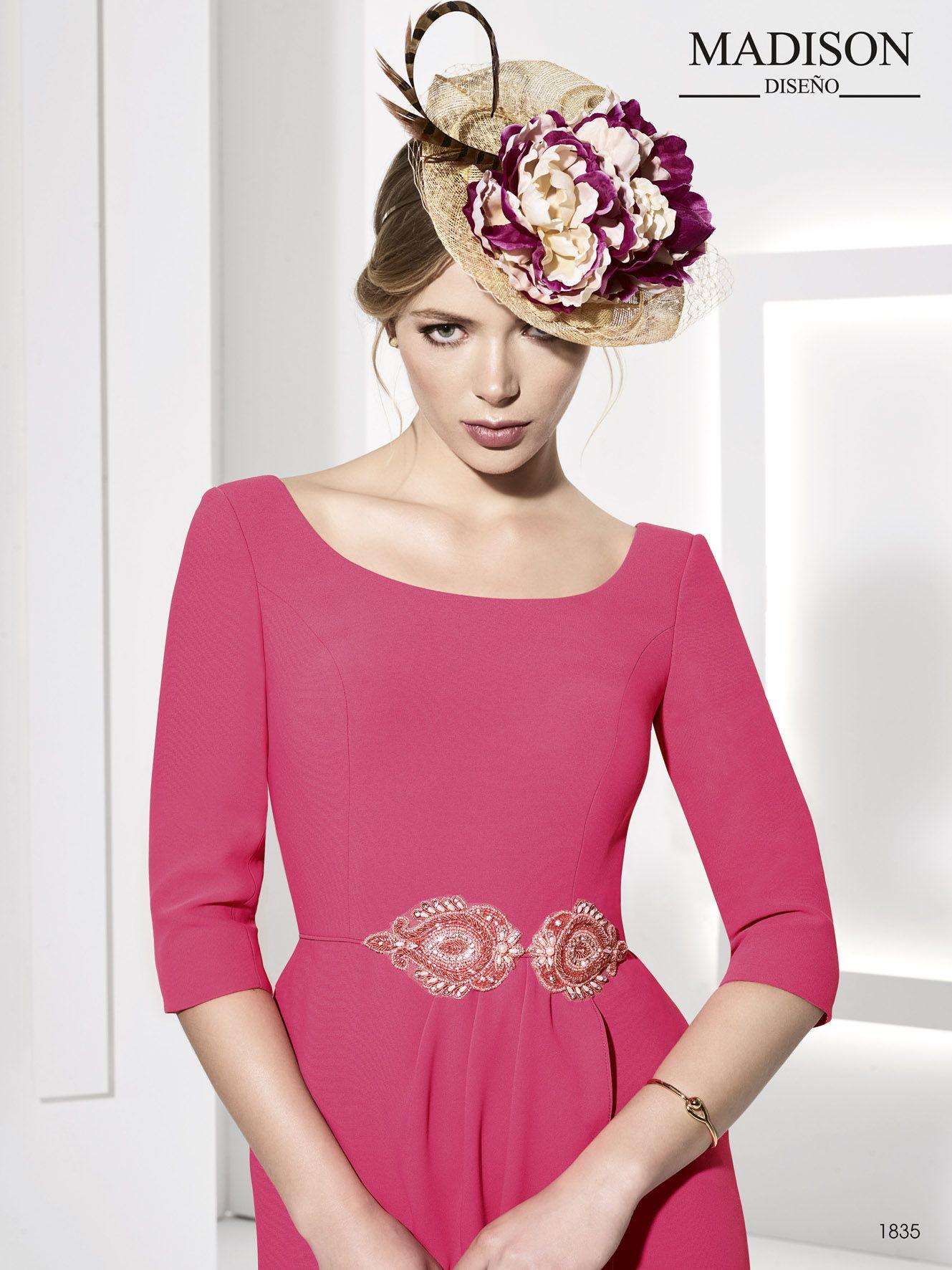 vestido corto de fiesta color rosa | Encaje | Pinterest | Vestidos ...