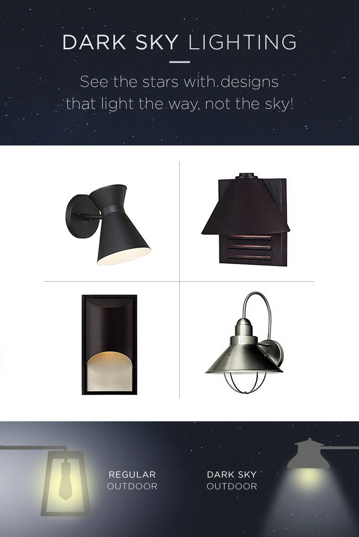 Dark Sky Outdoor Lighting With Simple Design Features That Reduce Overall Brightness Levels Outdoor Lighting Dark Sky Outdoor Lighting Outdoor Light Fixtures