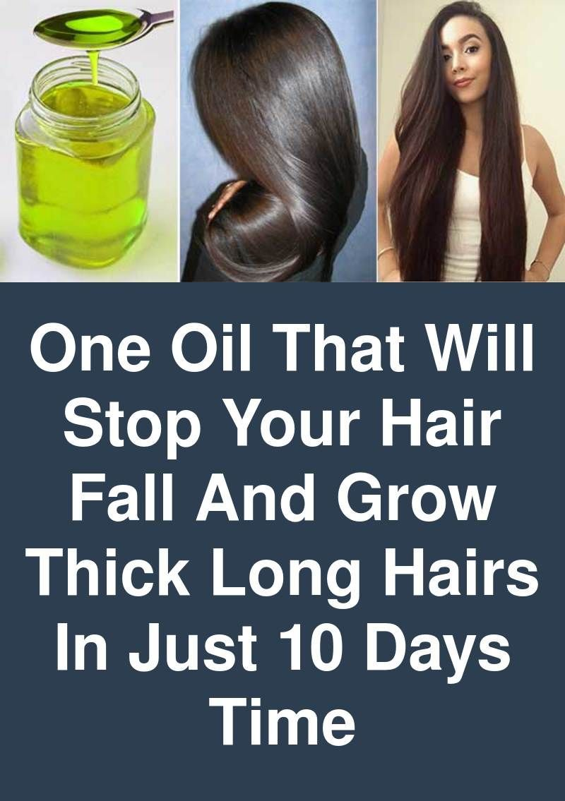 One Oil That Will Stop Your Hair Fall And Grow Thick Long Hairs In