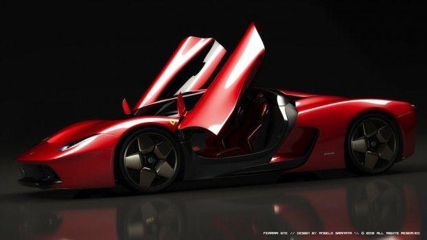 FERRARI GTE Concept – Angelo Granata. | Hypercars