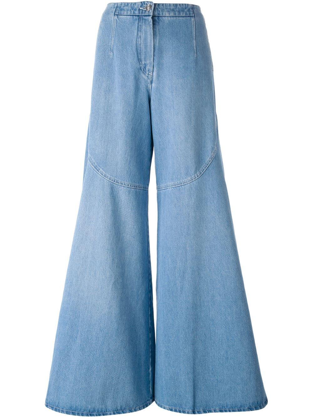 f0befa30 Kenzo Wide Leg Jeans - Dell'oglio - Farfetch.com | Farfetch - Resort ...