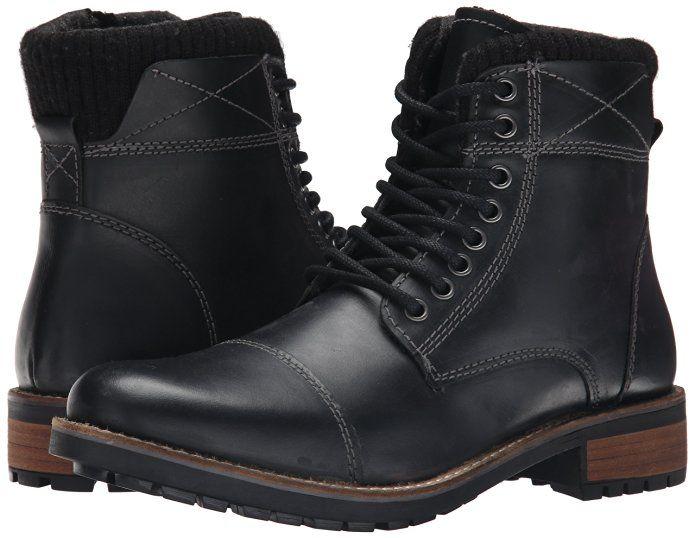 idioma entregar metal  Amazon.com   Steve Madden Men's Shredder Winter Boot, Black, 7 M US   Snow  Boots   Black boots men, Boots, Bike boots