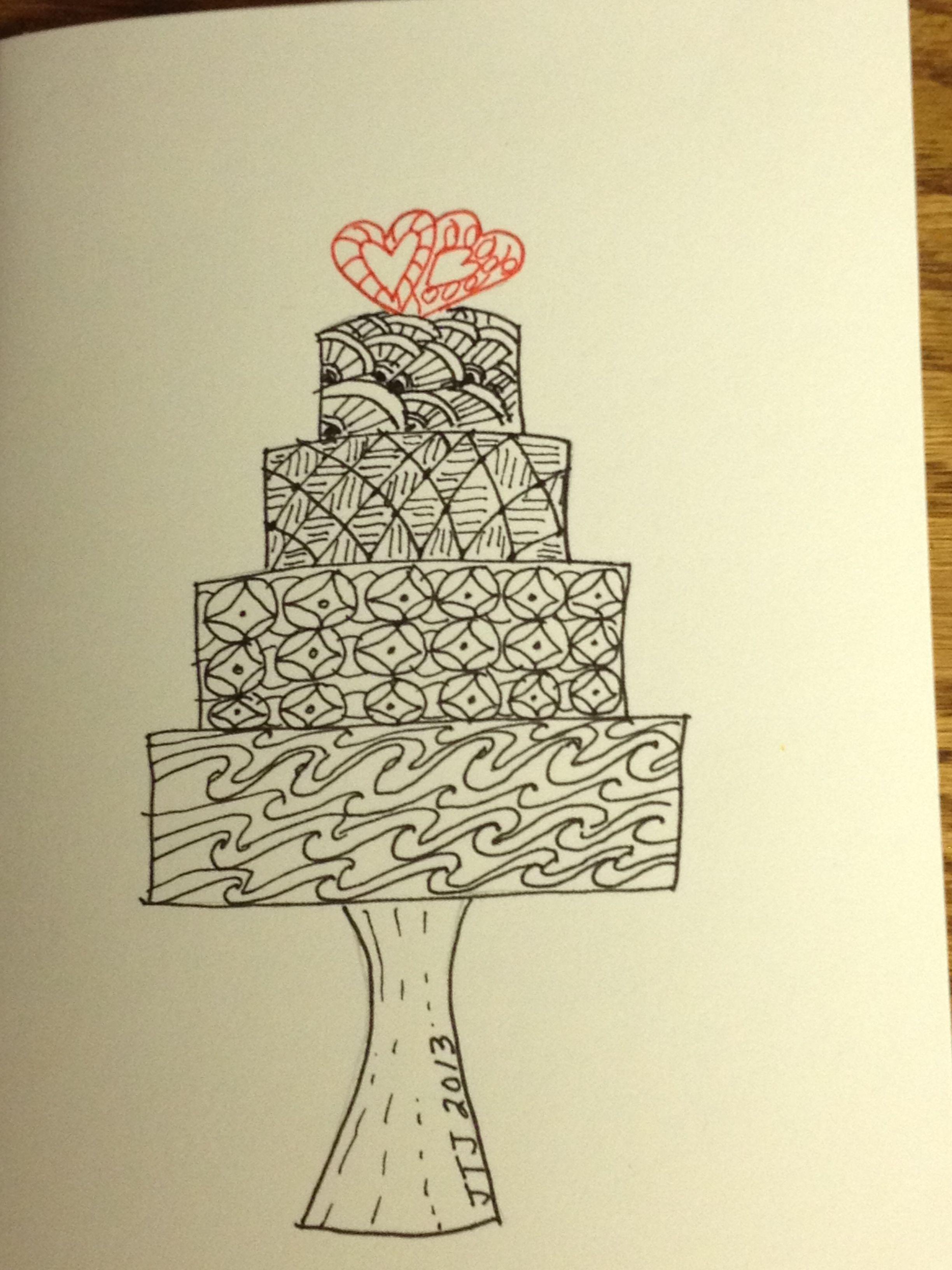 Anniversary Card Doodle Art Journals Art Journal Cards