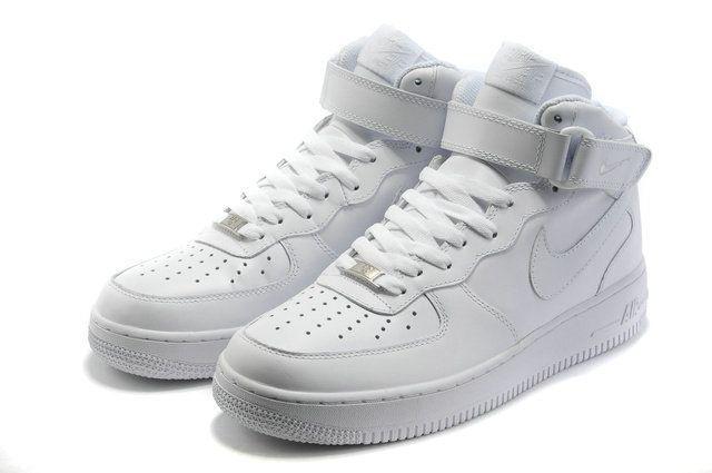 Aliexpress.com: Comprar Hombres Nike Air Force 1 07 de mediana alta de cuero