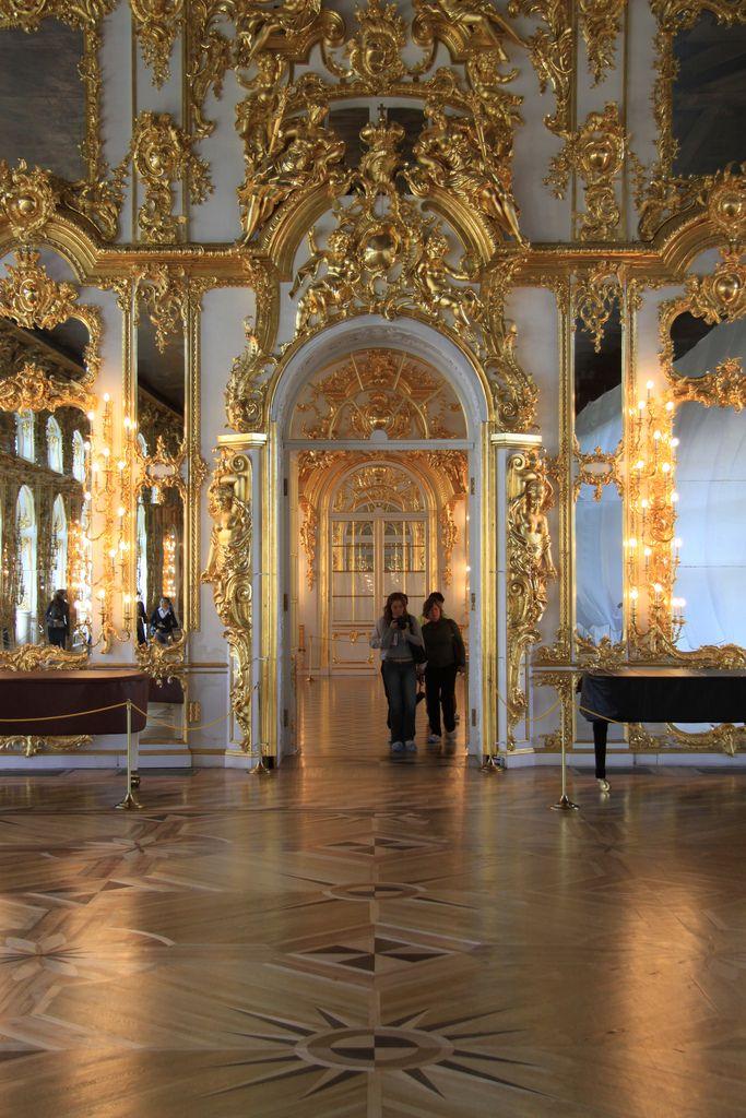 Ballroom of Catherine Palace Palace interior, Russian