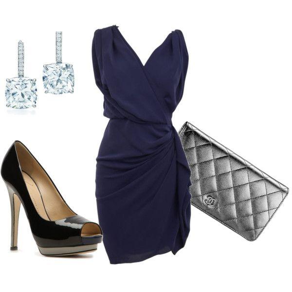 Royal Blue, created by hopekelham on Polyvore