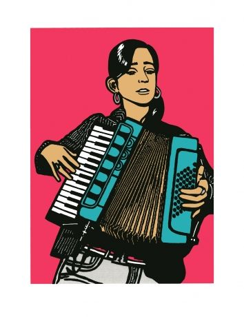 El Acordeon Del Corazon Julieta Venegas By Melanie Cervantes
