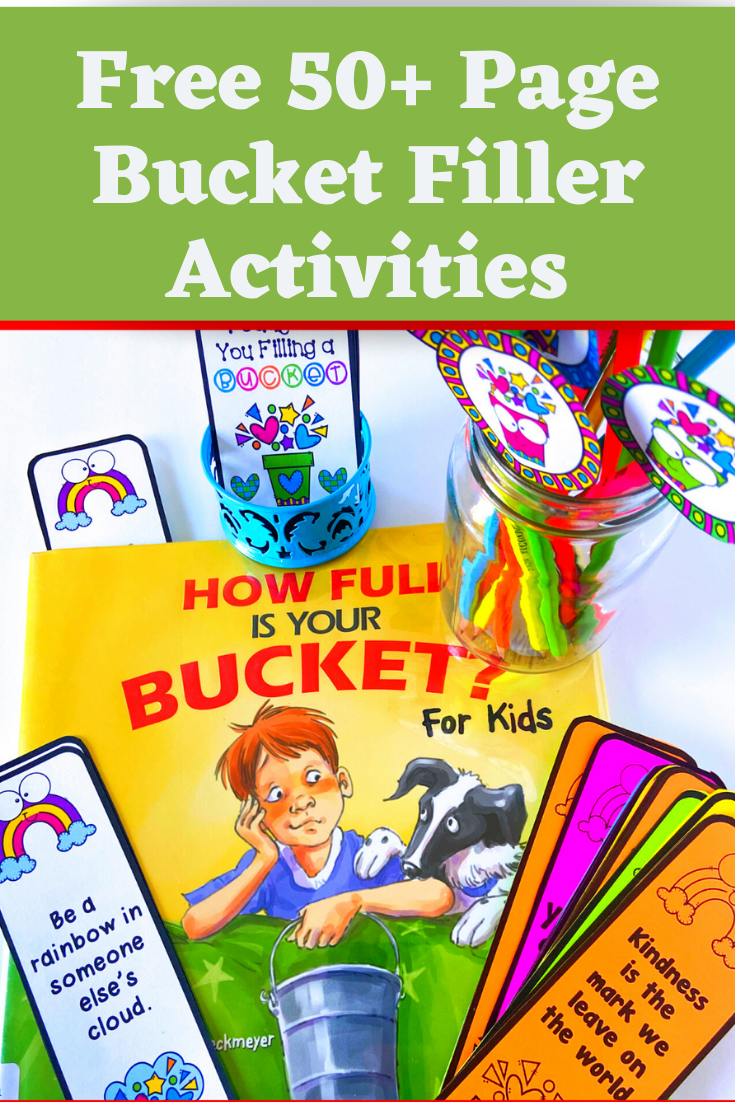 Free Bucket Filler Activities to Promote Kindness