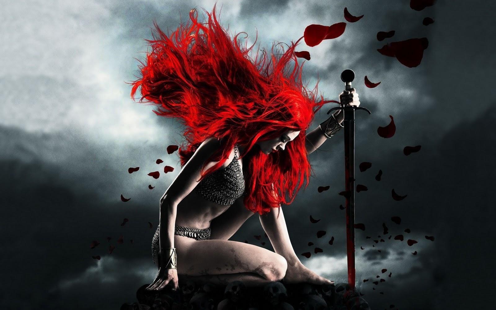 Powerful Women Red Sonja Warriors Wallpaper Red Sonja Movie