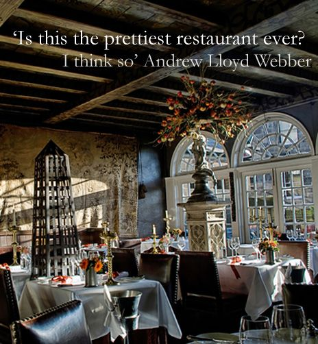 Luxury Restaurant Edinburgh | the Witchery by the Castle ...