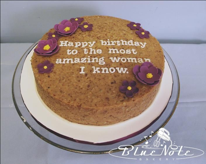 Happy Birthday To The Most Amazing Women I Know Cake Simple Cute Sweet
