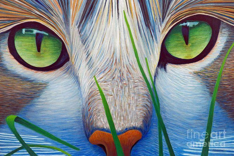 Google Images Pintura De Gato Pinturas De Gato Ojos De Gatos Dibujos
