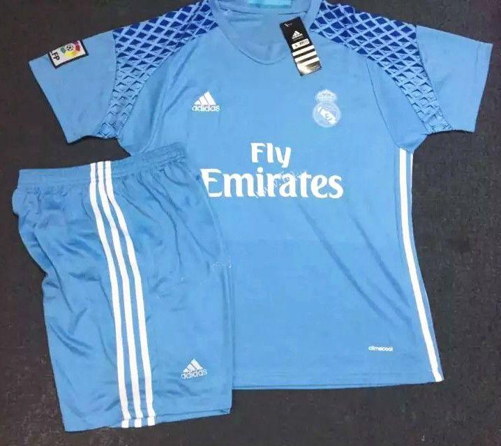 d16f1cca4 Real Madrid Youth Jersey 201617 GoalKeeper Kids Kit 1718 adidas Bayern  Munich Arturo Vidal 23 Long Sleeve Home Jersey 1718 Juventus ...