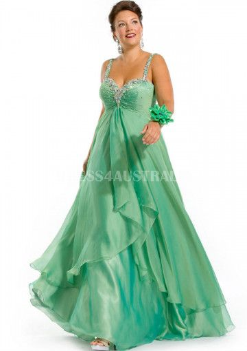 Cheap And Australia Strapless Asymetrical Chiffon Plus Size Evening