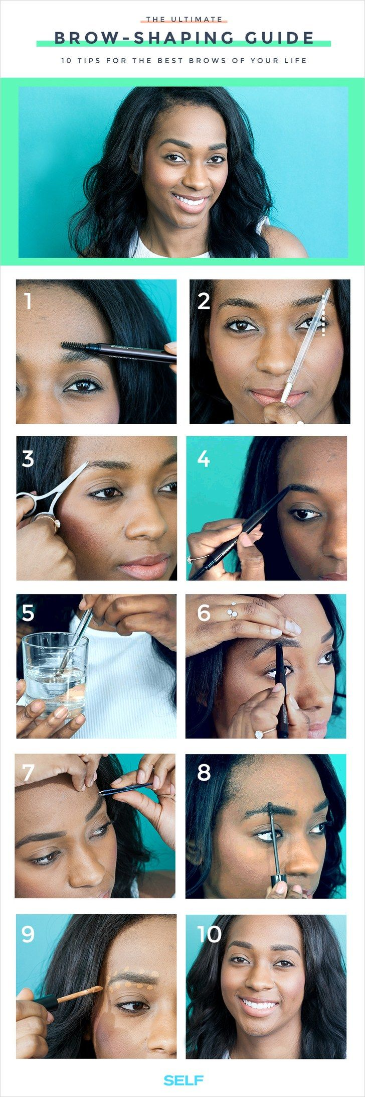 10 Tips For The Best Brows Of Your Life Best eyebrow