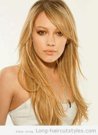Layered Hairstyles for Long Hair Oval Face 2014