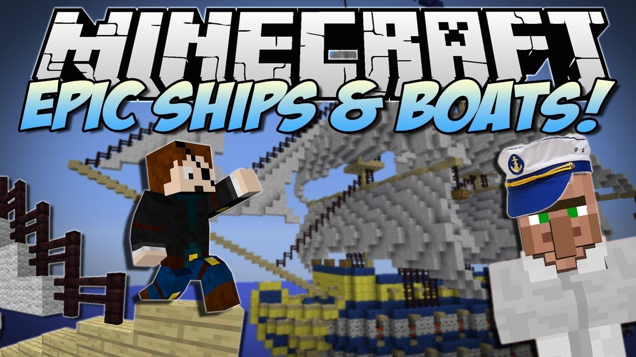 Minecraft | EPIC SHIPS & BOATS! (Turn Anything into a