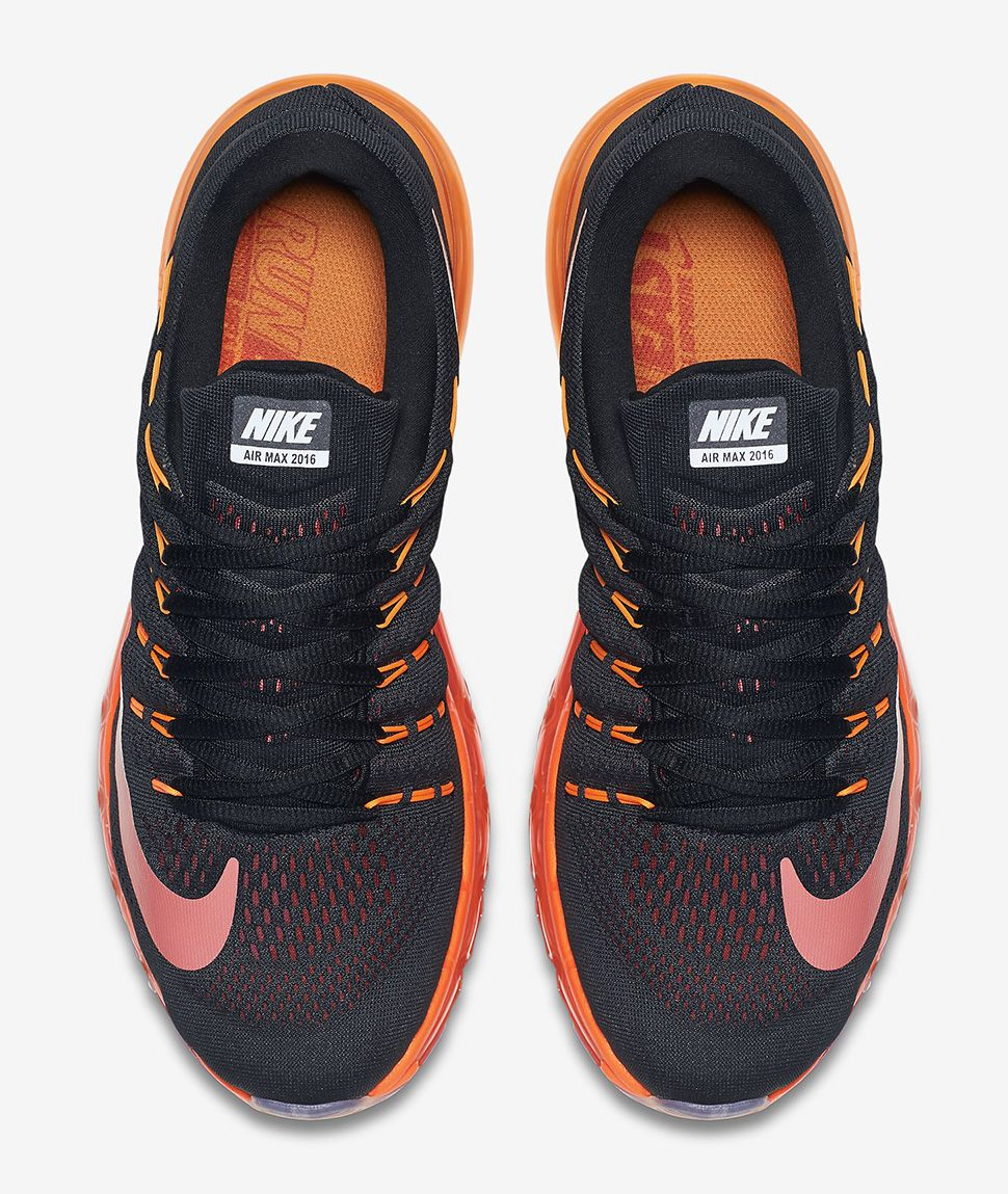 Nike Air Max 2016 Red Black For Sale
