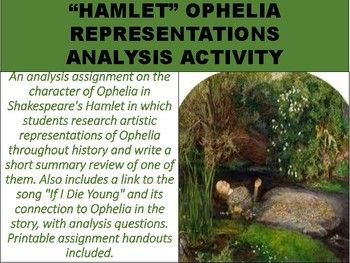 An Analysi Assignment On The Character Of Ophelia In Shakespeare 39 S Hamlet Which Student Research Artistic Representation Essay Outline Short Summary