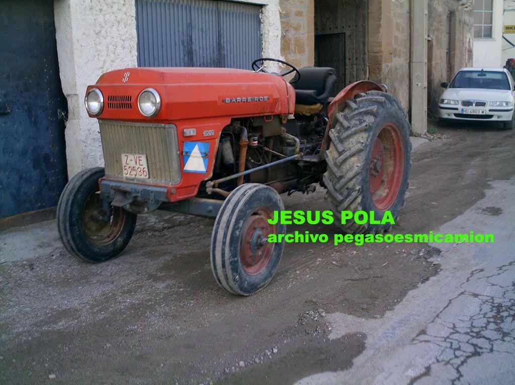 TRACTOR BARREIROS 4000 JESUS POLA