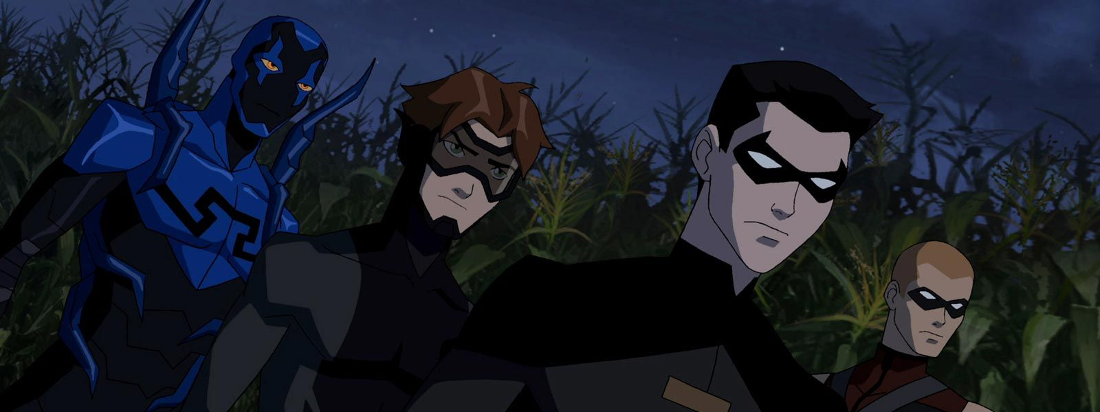 "young justice impulse and blue | Young Justice: ""True Colors"" Review"