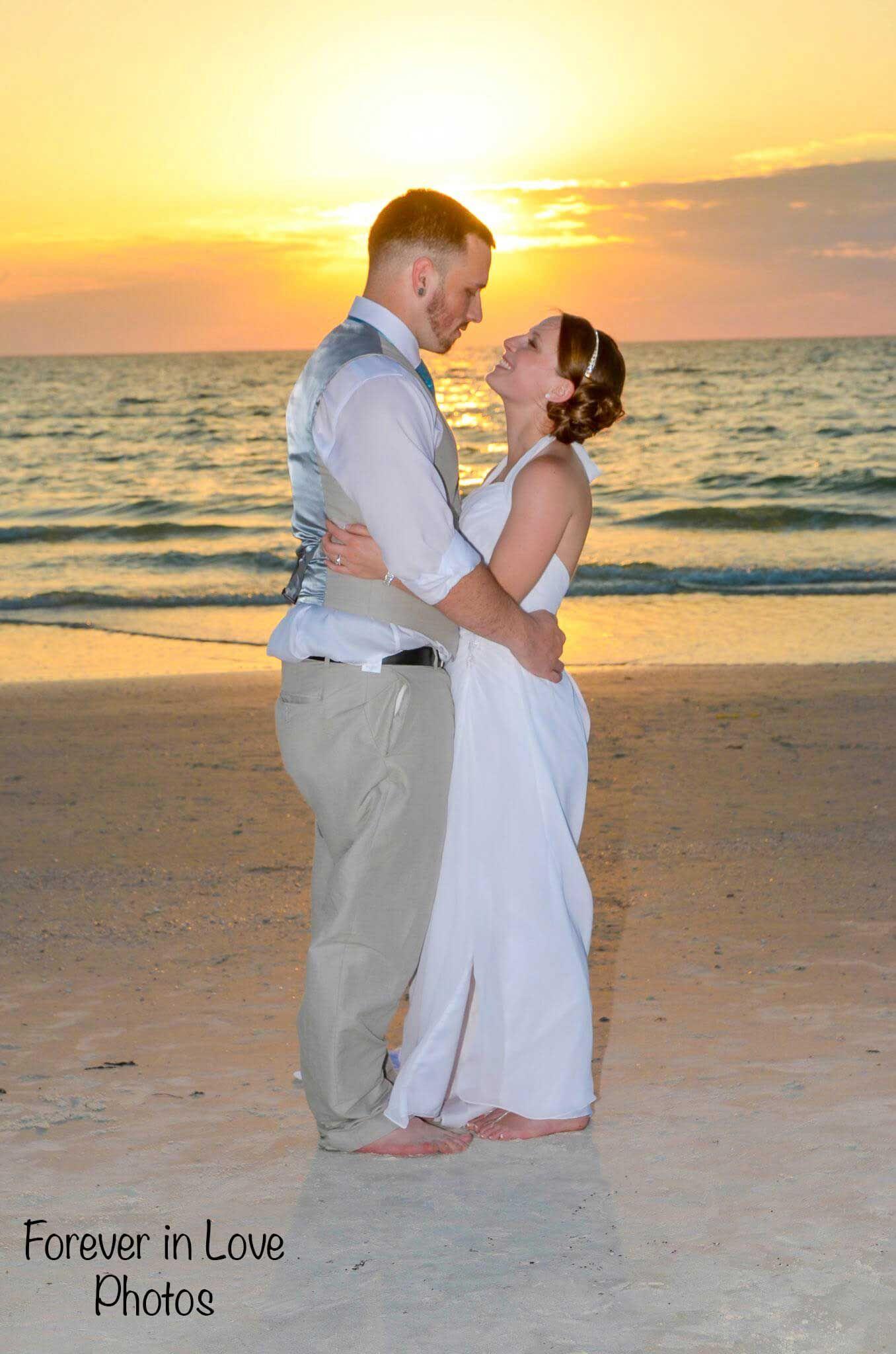 Clearwater beach weddings florida beach wedding