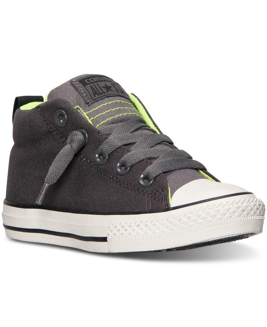 16624cdc2ff2 Converse Boys  Chuck Taylor Street Casual Sneakers from Finish Line ...