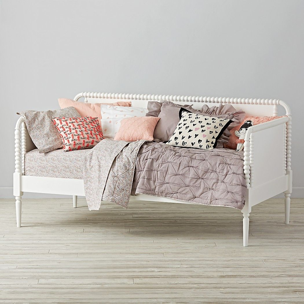 - Jenny Lind Kids Daybed (White) Crate And Barrel (With Images