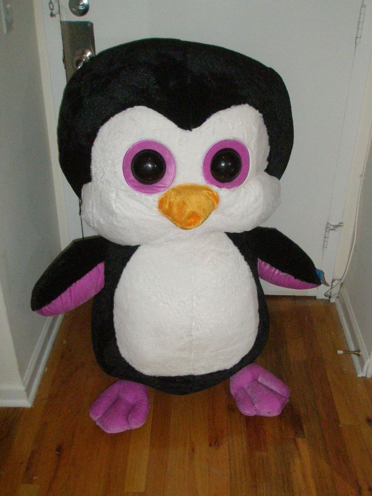 40 Jumbo Penguin Plush Stuffed Animal Giant Teddy Bear Six Flags
