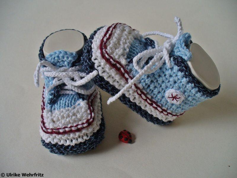 Es werden ja sehr viele Babyschuhe in Turnschuhoptik angeboten ...