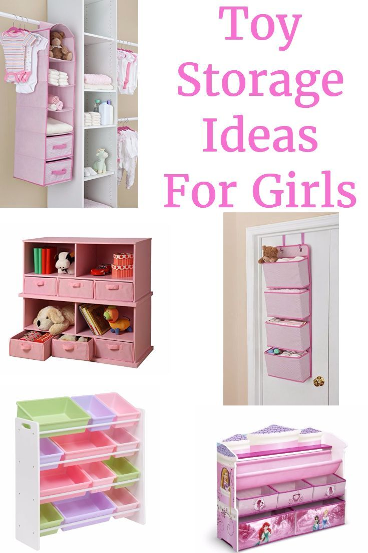 Toy Storage Ideas for Girls - Tidy up with these gorgeous storage ideas  sc 1 st  Pinterest & Toy Storage ideas For Girls - Sorting and Organizing Your Girls Room ...