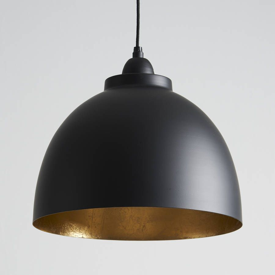 Black And Gold Pendant Light In 2019