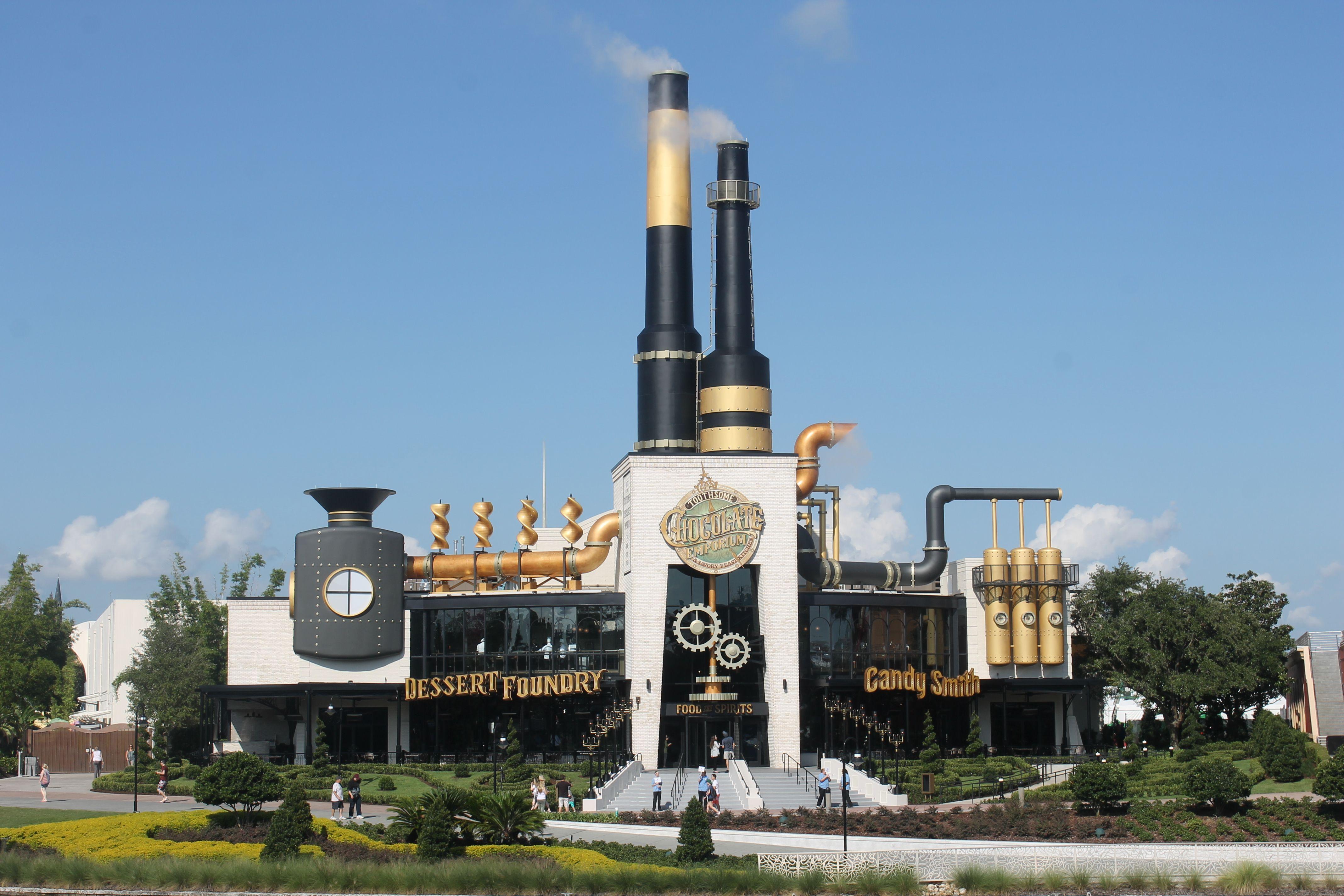 Toothsome Chocolate Emporium Universal CityWalk Orlando