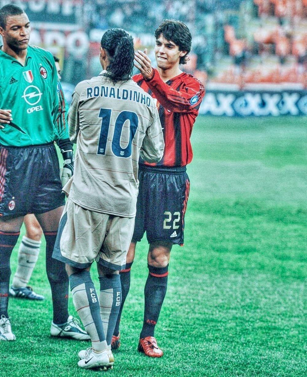 Dida Ronaldinho E Kaka With Images Football Players
