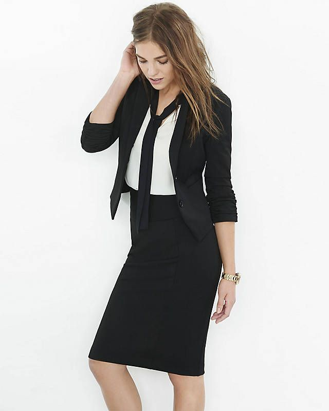 47+ Black dress suit womens info
