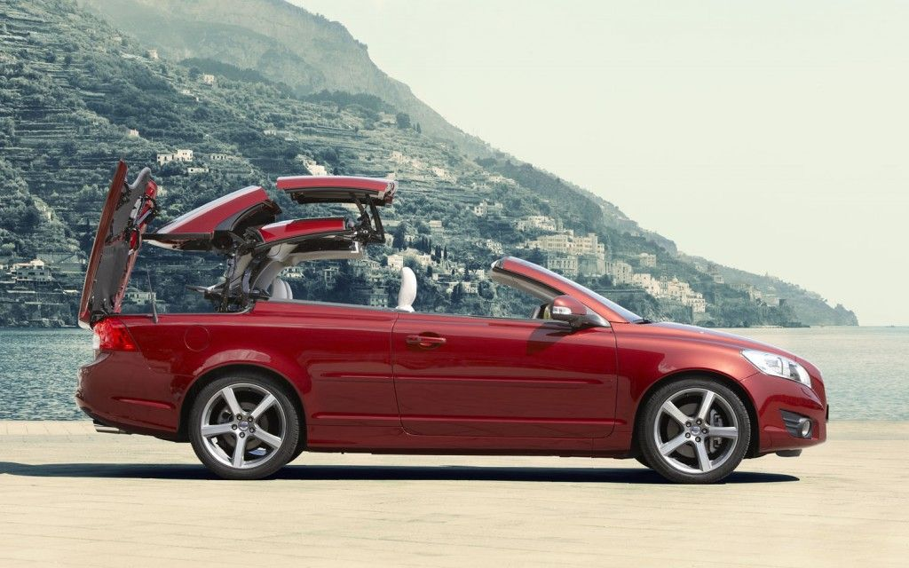 Volvo C70 Convertible >> 2012 Volvo C70 Convertible Right Side Top Fold My Car Volvo C70