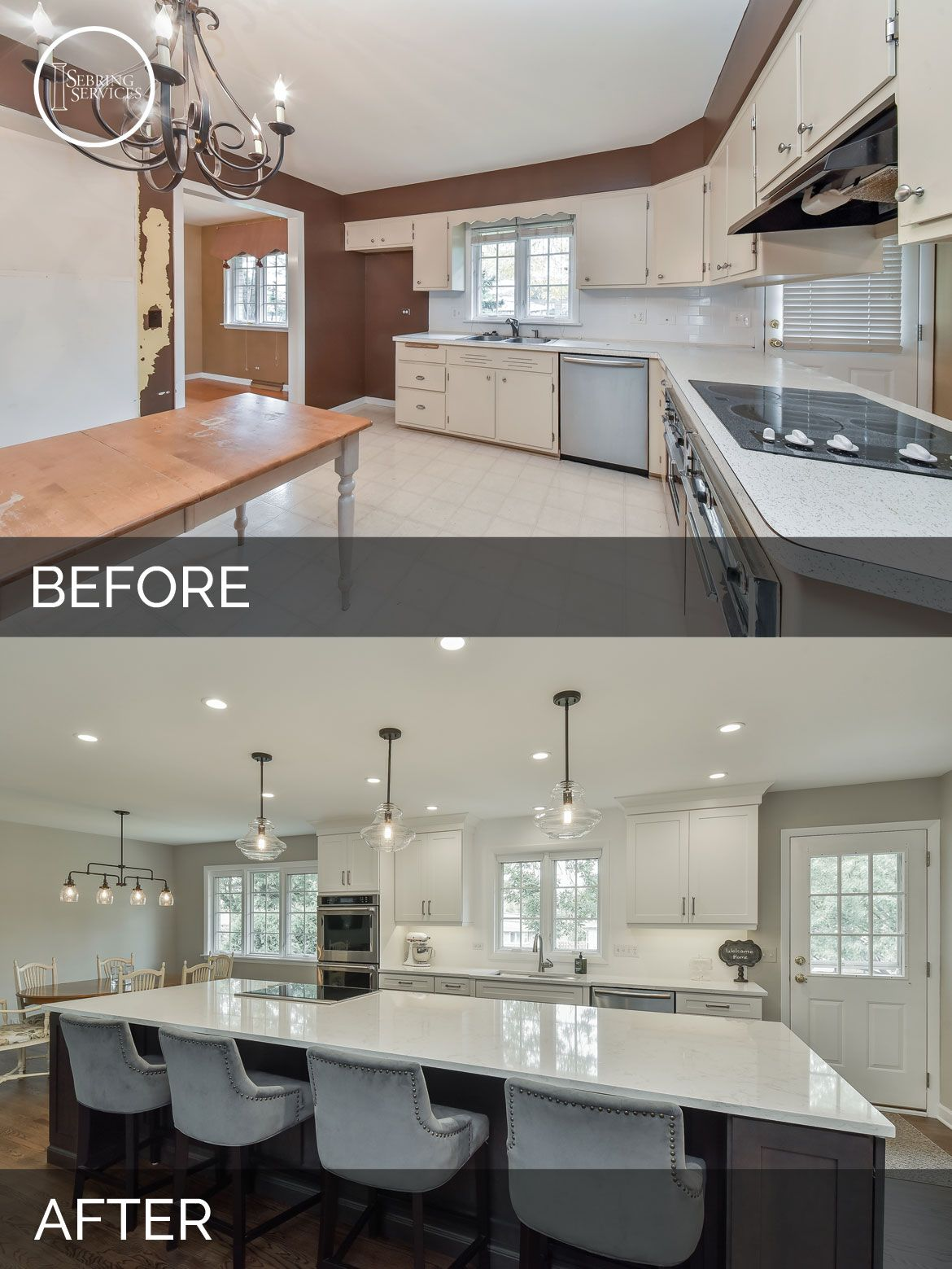 dale tracey s kitchen before after pictures before after rh pinterest com