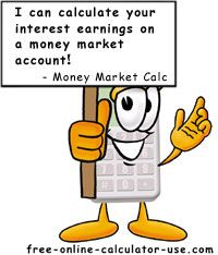 Money Market Account Calculator  Investing In Silver  Gold
