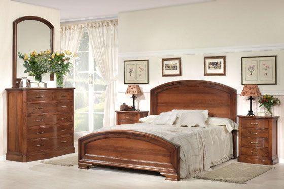 Camas clasicas de madera buscar con google dormitorios - Habitaciones juveniles clasicas ...