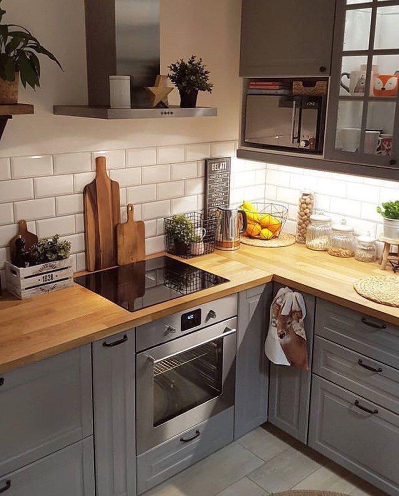 "Inspi_Deco on Instagram: ""▪️ Kitchen decor 💫 😍 Inspi @pinteres..."
