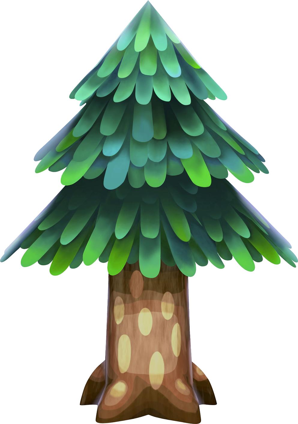Tree Animal Crossing Animal Crossing Characters Cedar Trees