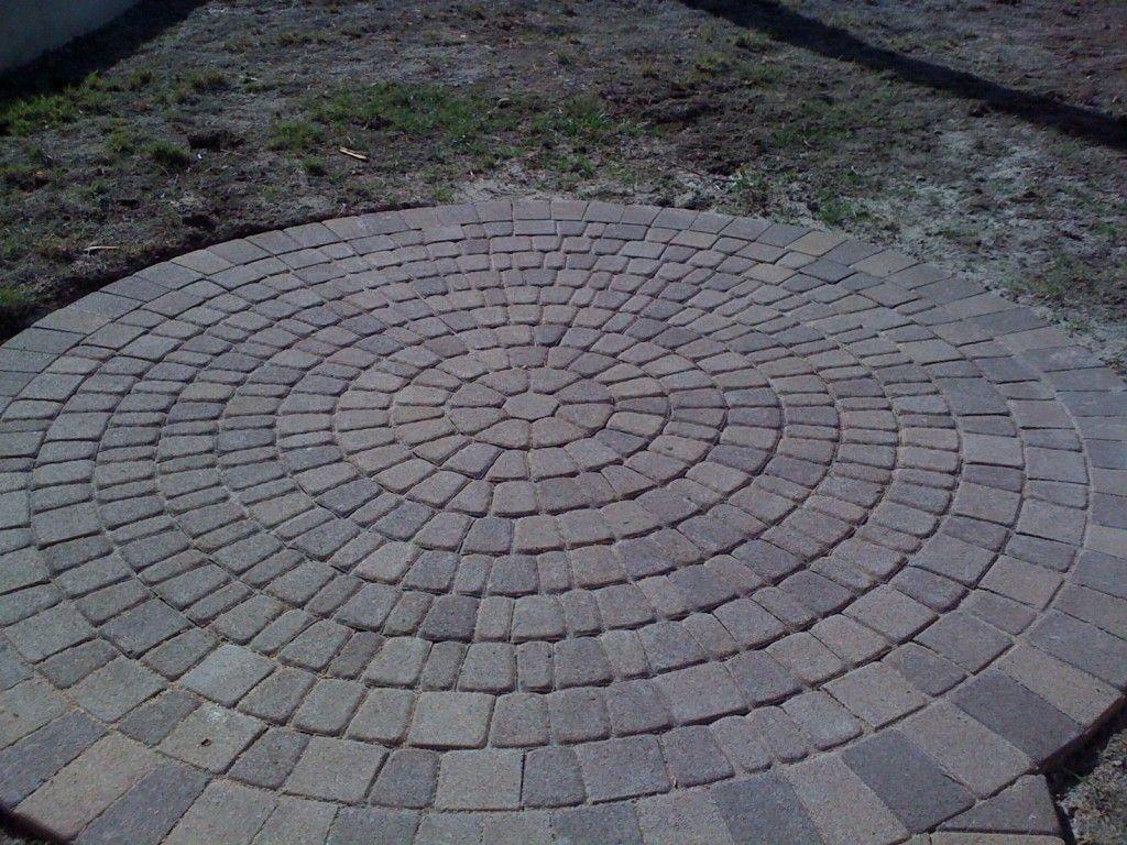 Circle Patio Paver Designs, Circle Patio Orange County Pavers .