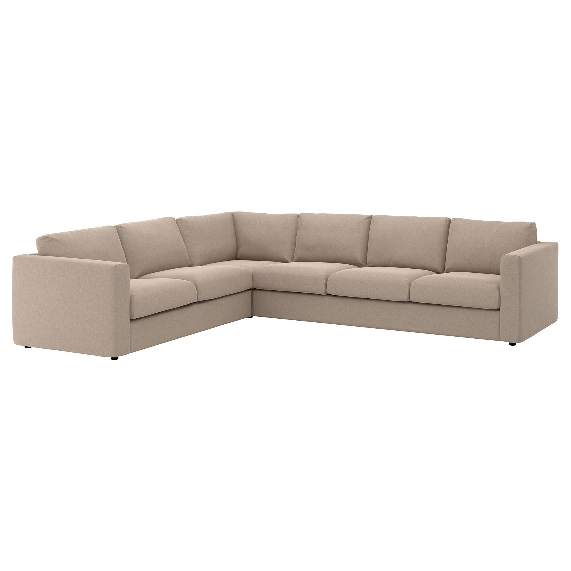 Eckcouch Beige Vimle Cover For Sectional 5 Seat Tallmyra Beige In 2019