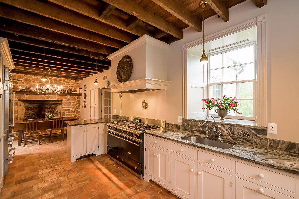 Historic Stoney Brook Farm c.1820 Kitchen House design