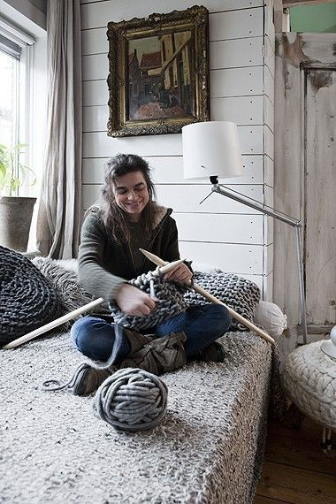 DIY needles... From brooms?