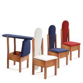 silla planchador de madera